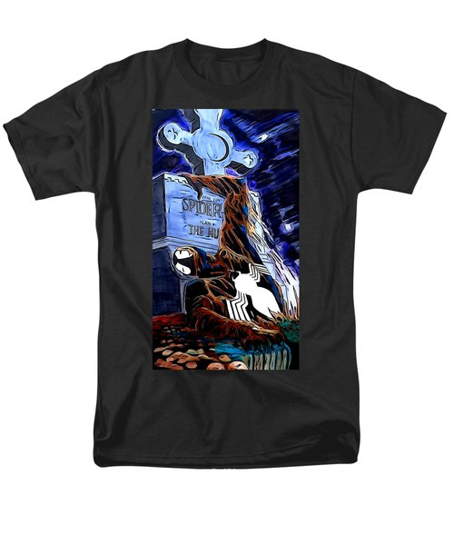Spider Resurrection Painting Men's T-Shirt  (Regular Fit) by Justin Moore