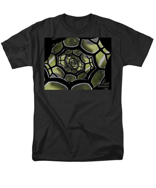 Men's T-Shirt  (Regular Fit) featuring the photograph Spider's Web. by Clare Bambers