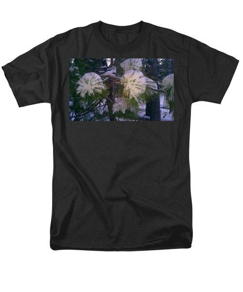 Spiny Snow Balls Men's T-Shirt  (Regular Fit) by Chris Tarpening