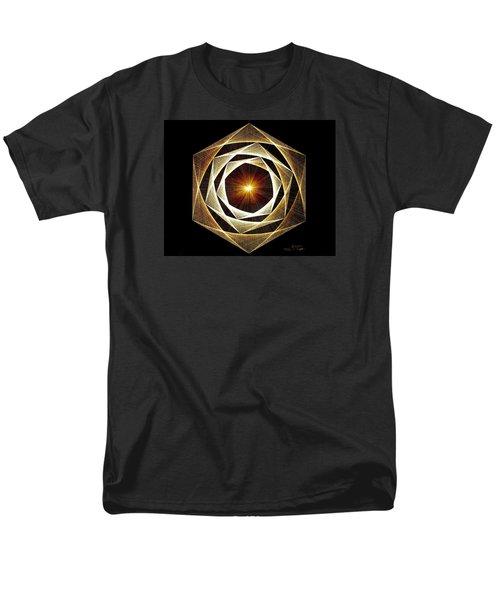Spiral Scalar Men's T-Shirt  (Regular Fit) by Jason Padgett