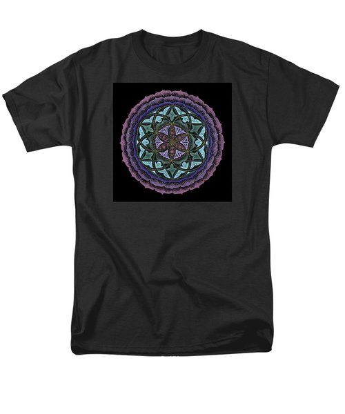 Spiritual Heart Men's T-Shirt  (Regular Fit) by Keiko Katsuta