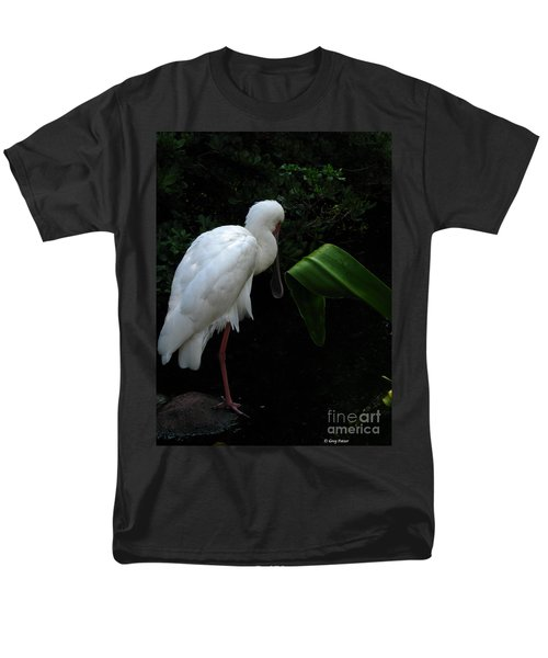 Spoonbill Morning Men's T-Shirt  (Regular Fit) by Greg Patzer