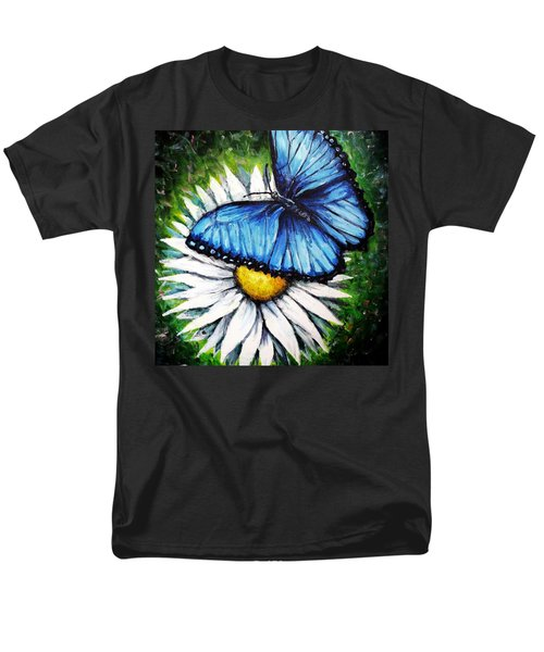 Men's T-Shirt  (Regular Fit) featuring the painting Spring Has Sprung by Shana Rowe Jackson