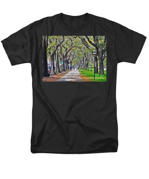 Springtime In Savannah Men's T-Shirt  (Regular Fit) by Lydia Holly