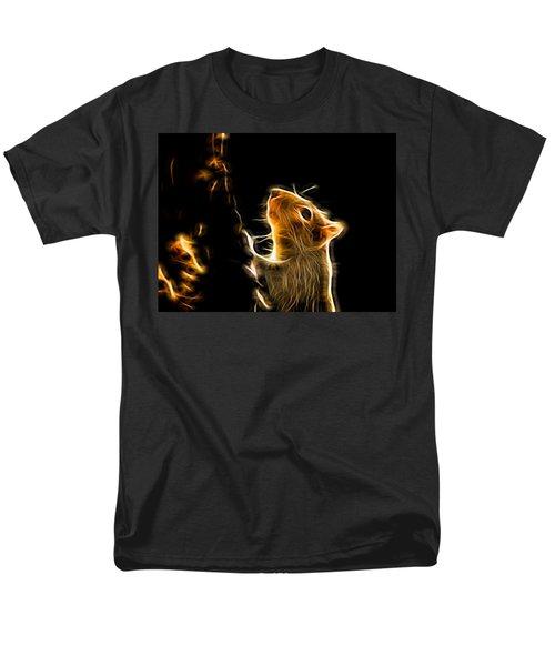 Squirrel Men's T-Shirt  (Regular Fit) by Ron Harpham