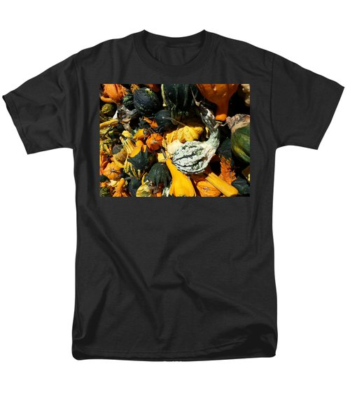 Men's T-Shirt  (Regular Fit) featuring the photograph Squish Squash by Caryl J Bohn