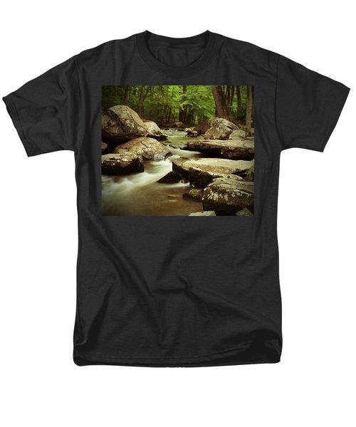 St. Peters Stream Men's T-Shirt  (Regular Fit) by Michael Porchik