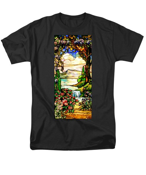 Men's T-Shirt  (Regular Fit) featuring the photograph Stained Glass No Border by Kristin Elmquist