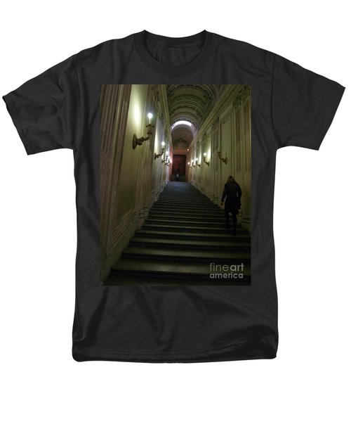 Men's T-Shirt  (Regular Fit) featuring the photograph Stairway  by Robin Maria Pedrero