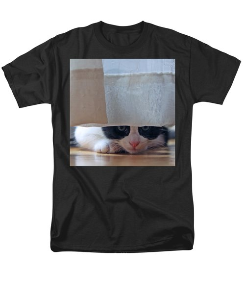 Men's T-Shirt  (Regular Fit) featuring the pyrography Stalking Me by Shoal Hollingsworth