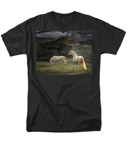 Stallions Of The Gods Men's T-Shirt  (Regular Fit)