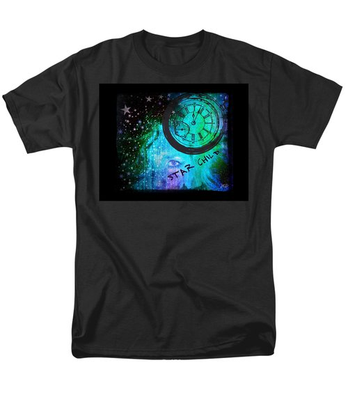 Star Child - Time To Go Home Men's T-Shirt  (Regular Fit)
