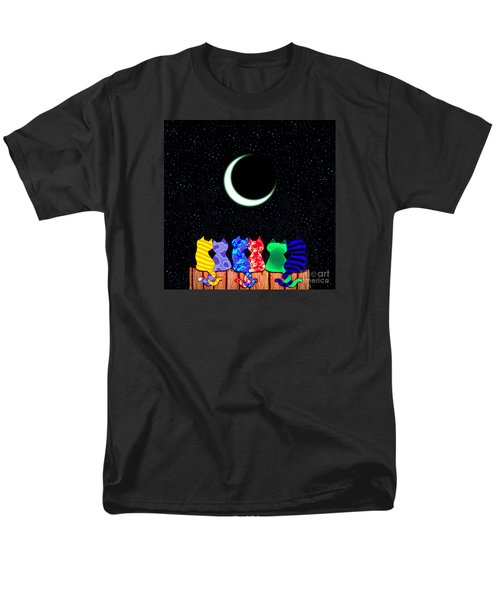 Star Gazers Men's T-Shirt  (Regular Fit) by Nick Gustafson