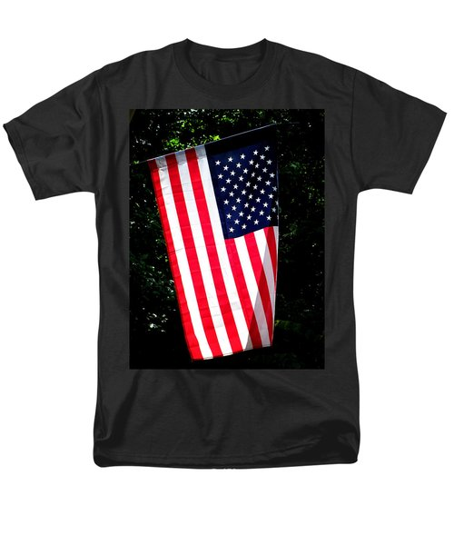 Men's T-Shirt  (Regular Fit) featuring the photograph Star Spangled Banner by Greg Simmons