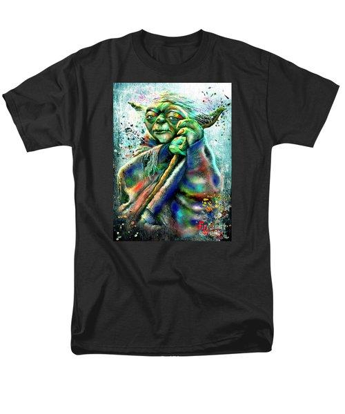 Star Wars Yoda Men's T-Shirt  (Regular Fit)