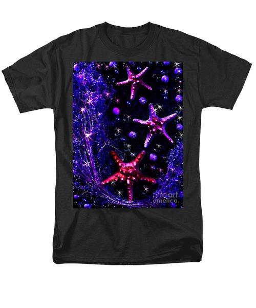 Starfish Galaxy Men's T-Shirt  (Regular Fit) by Patricia L Davidson