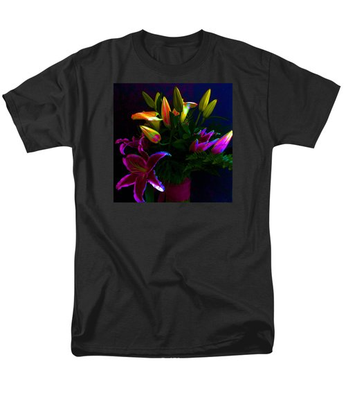 Stargazer Bouquet Men's T-Shirt  (Regular Fit) by Carolyn Repka