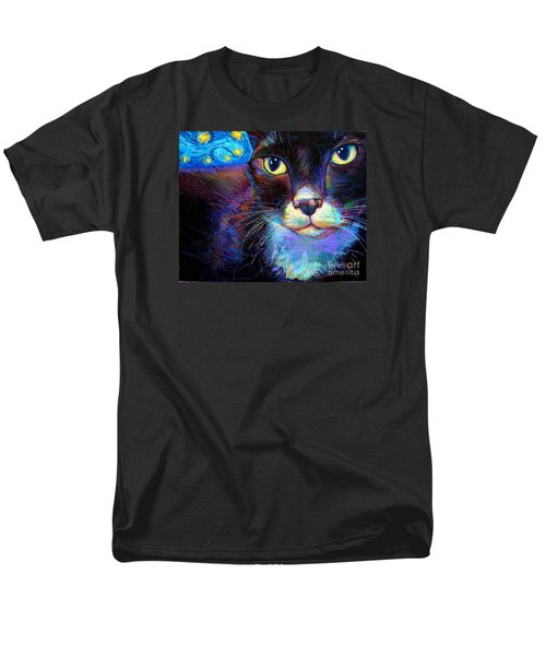 Men's T-Shirt  (Regular Fit) featuring the painting Starry Night Jack by Robert Phelps