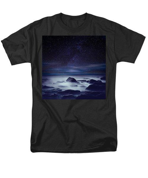 Starry Night Men's T-Shirt  (Regular Fit) by Jorge Maia