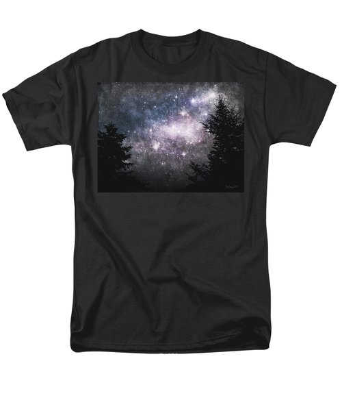 Men's T-Shirt  (Regular Fit) featuring the photograph Starry Starry Night by Cynthia Lassiter