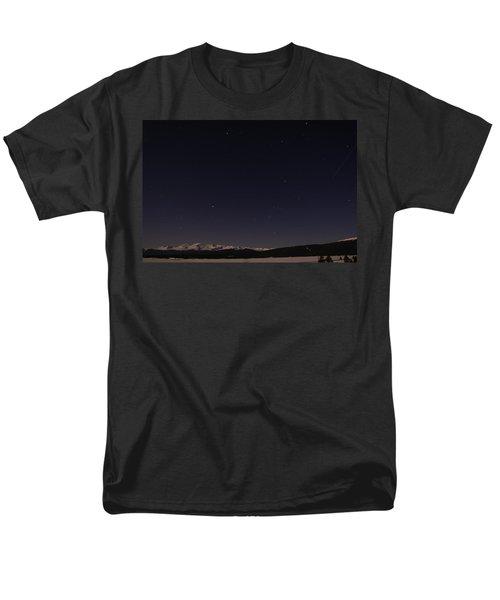Stars Over Sawatch Men's T-Shirt  (Regular Fit) by Jeremy Rhoades