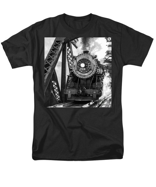Steam Engine 734 Leaving The Narrows Men's T-Shirt  (Regular Fit)