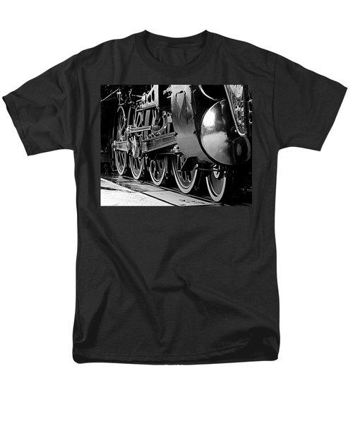 Steamer Up 844 Wheels Men's T-Shirt  (Regular Fit) by Bartz Johnson