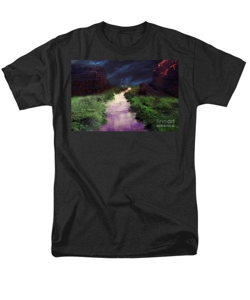 Steamy Creek Men's T-Shirt  (Regular Fit) by Gunter Nezhoda