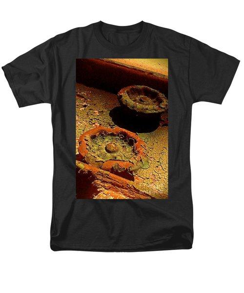 Men's T-Shirt  (Regular Fit) featuring the photograph Steel Flowers by James Aiken