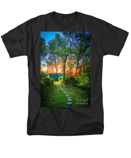 Stepping Stones To The Light Men's T-Shirt  (Regular Fit) by Marvin Spates