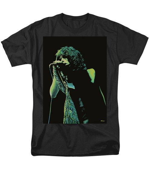 Steven Tyler 2 Men's T-Shirt  (Regular Fit) by Paul Meijering