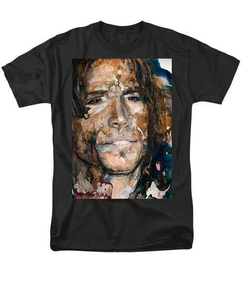 Men's T-Shirt  (Regular Fit) featuring the painting Get Your Wings by Laur Iduc