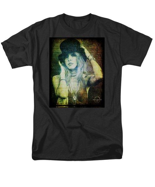 Stevie Nicks - Bohemian Men's T-Shirt  (Regular Fit) by Absinthe Art By Michelle LeAnn Scott