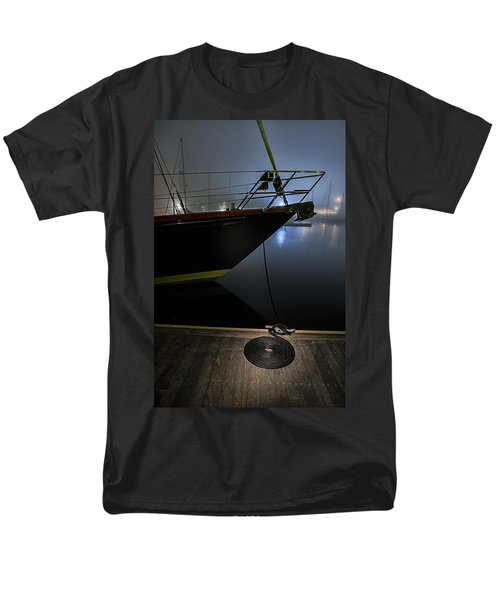Men's T-Shirt  (Regular Fit) featuring the photograph Still In The Fog by Marty Saccone