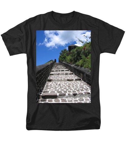 St.kitts - Ascent Men's T-Shirt  (Regular Fit) by HEVi FineArt