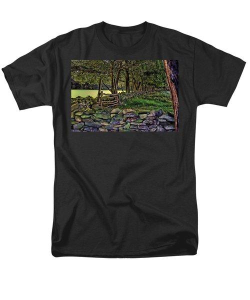 Stone Walled Men's T-Shirt  (Regular Fit)
