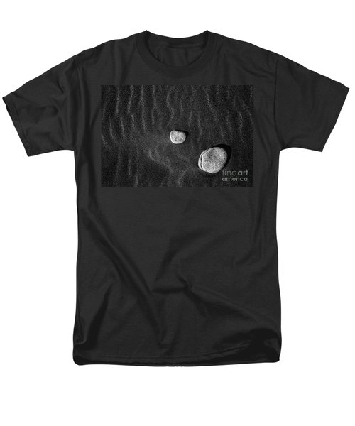 Men's T-Shirt  (Regular Fit) featuring the photograph Stones In The Sand by Gunnar Orn Arnason
