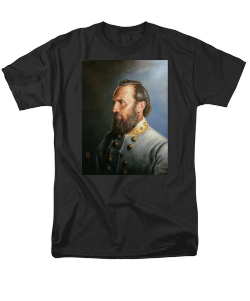 Men's T-Shirt  (Regular Fit) featuring the painting Stonewall Jackson by Glenn Beasley