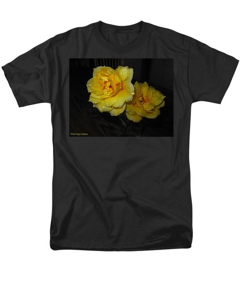 Stop And Smell The Roses Men's T-Shirt  (Regular Fit) by Joyce Dickens
