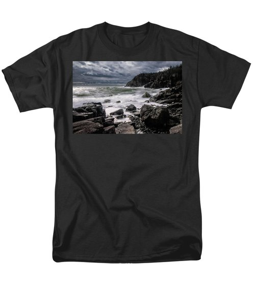 Storm At Gulliver's Hole Men's T-Shirt  (Regular Fit) by Marty Saccone