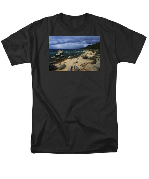 Men's T-Shirt  (Regular Fit) featuring the photograph Stormy Days  by Sean Sarsfield