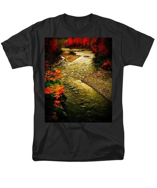 Men's T-Shirt  (Regular Fit) featuring the photograph Stream by Bill Howard