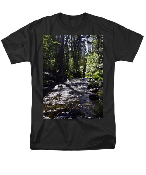 Men's T-Shirt  (Regular Fit) featuring the photograph Stream by Brian Williamson