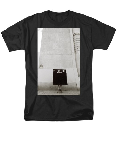 Paris Surrealism Men's T-Shirt  (Regular Fit) by Shaun Higson