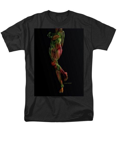 Street Artist Men's T-Shirt  (Regular Fit) by Donna Blackhall