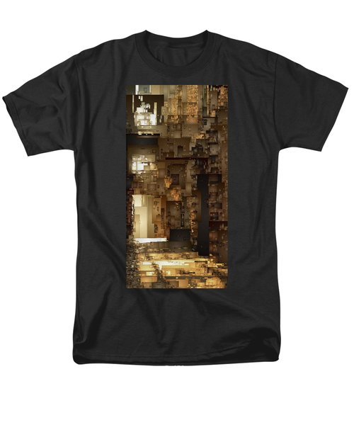 Streets Of Gold Men's T-Shirt  (Regular Fit) by David Hansen