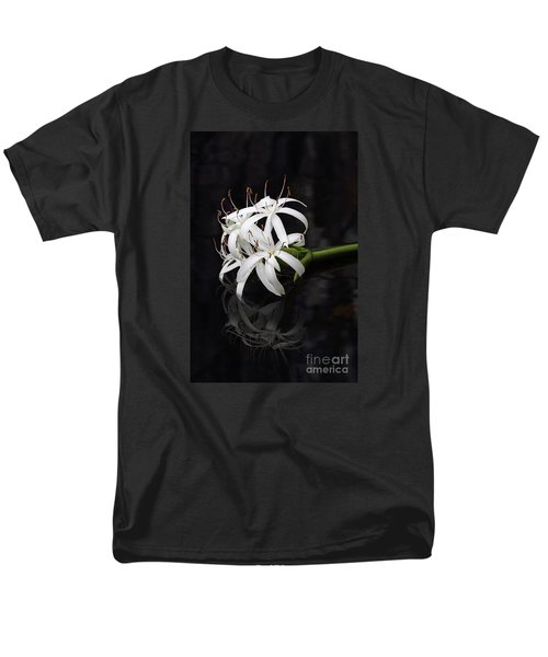 Men's T-Shirt  (Regular Fit) featuring the photograph String Lily #1 by Paul Rebmann