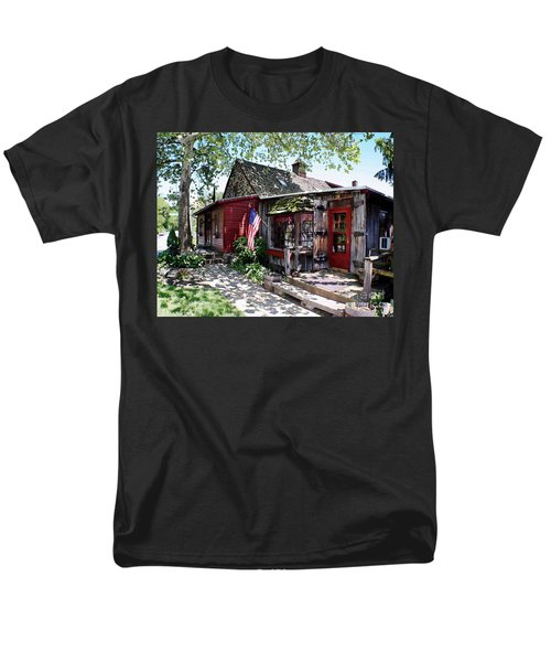 Men's T-Shirt  (Regular Fit) featuring the photograph Strode Mill West Chester Pa by Polly Peacock