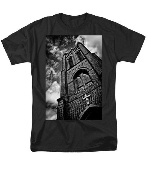 Strong Tower Men's T-Shirt  (Regular Fit) by Jessica Brawley