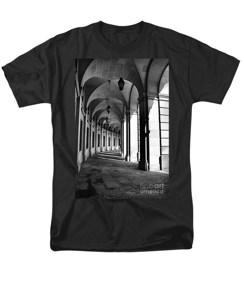 Men's T-Shirt  (Regular Fit) featuring the photograph Study In Black And White by John S